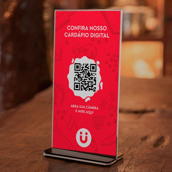 Cardápio Digital via QR Code