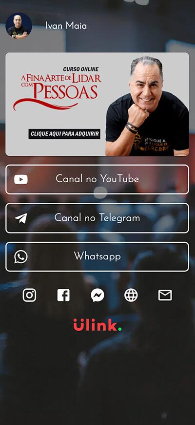 Página do Ivan Maia
